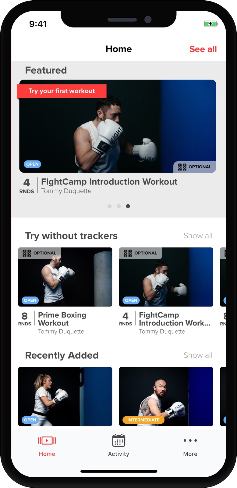 FightCamp | User Manual - How to Get Started with FightCamp